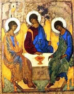 Szentháromság ikon- A.Rubljov